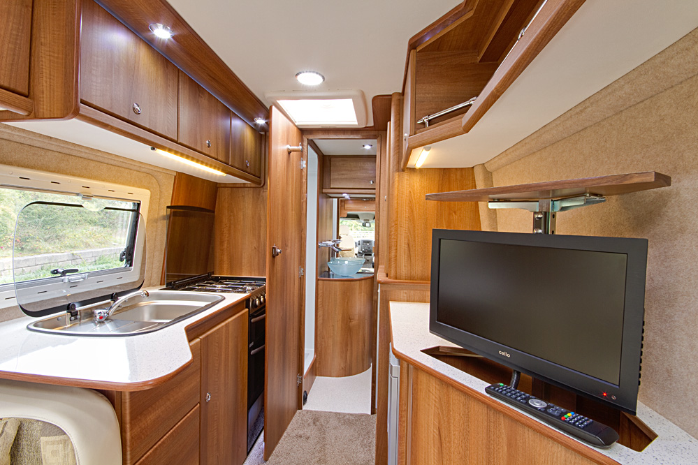Motorhome and Cravan virtual tours