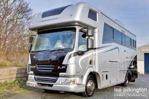 motorhome and horsebox photography